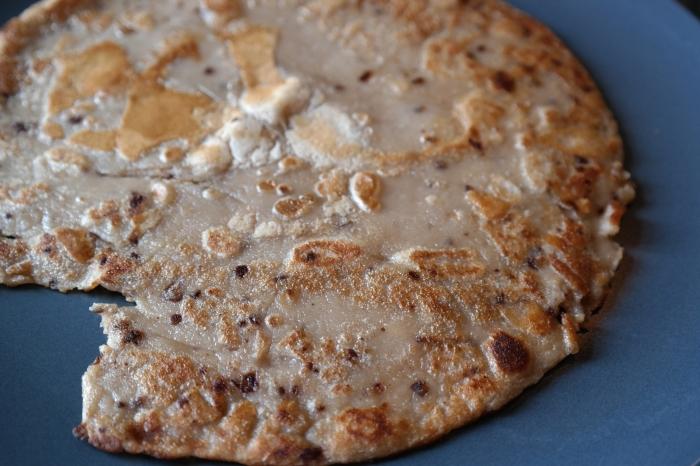 Rustic looking pancake