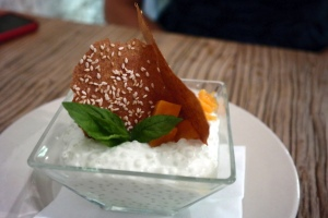 Coconut & kaffir lime, green tapioca, sweet potatoes, banana wafer_14945158812_l