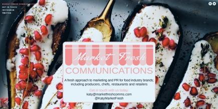 Market Fresh Communications website