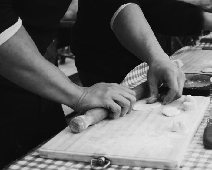 Master at work - Handmade dumplings