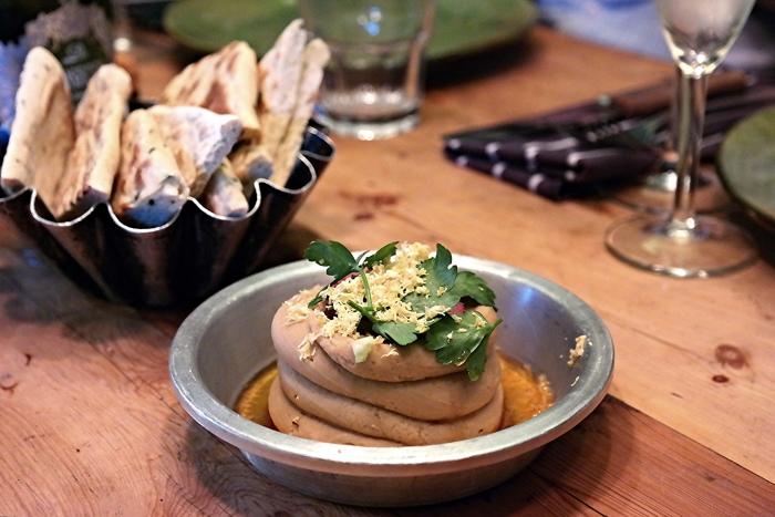 Starter - Chestnut hummus