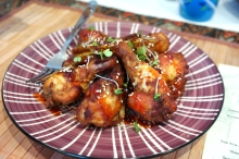 Lemongrass and Belacan chicken wings