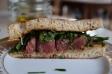 Portuguese steak sandwich